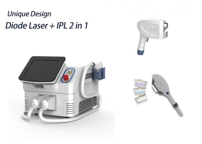 2 In 1 Portable E Light Ipl Machine For Hair Removal Skin Rejuvenation